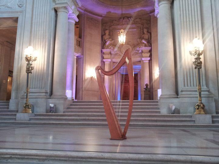 Tmx 1436810263307 Laras Harp At City Hall San Francisco, CA wedding ceremonymusic