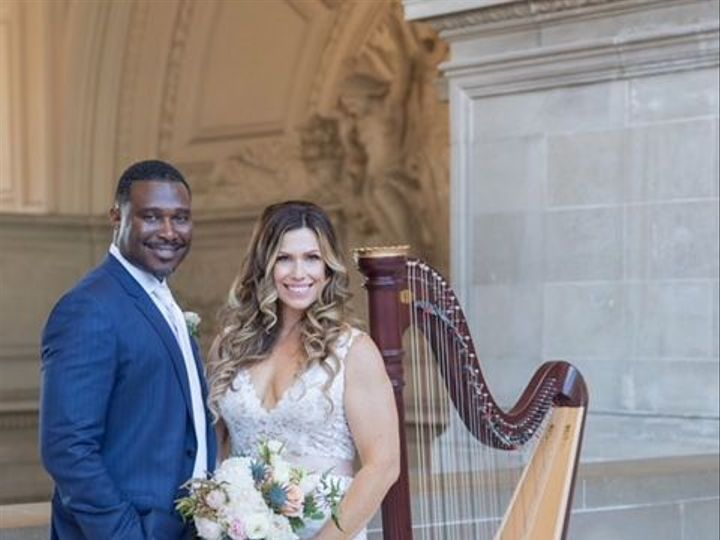 Tmx 1530314975 54b66af979434ce2 1530314974 4d88331c287daebf 1530314978559 1 Photo Couple At CH San Francisco, CA wedding ceremonymusic