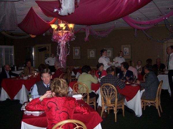 Dinning room on Valentines Day