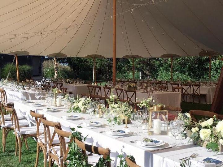 Tmx 1480105486047 Farm Style Reception Set Up Amagansett, NY wedding venue
