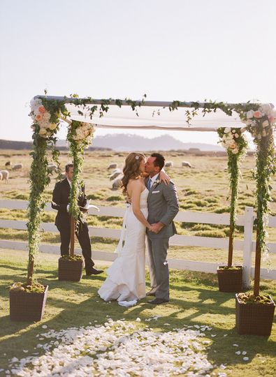Mission ranch venue carmel by the sea ca weddingwire for Carmel by the sea wedding