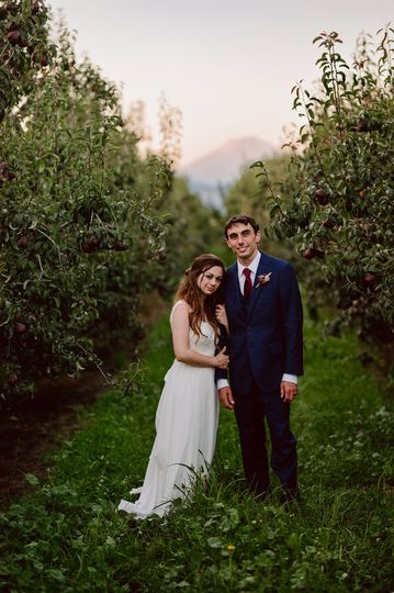 Hood River wedding