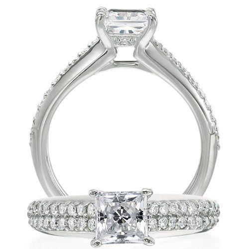 Tmx 1343417400873 ClassicEngagementRing Staten Island wedding jewelry