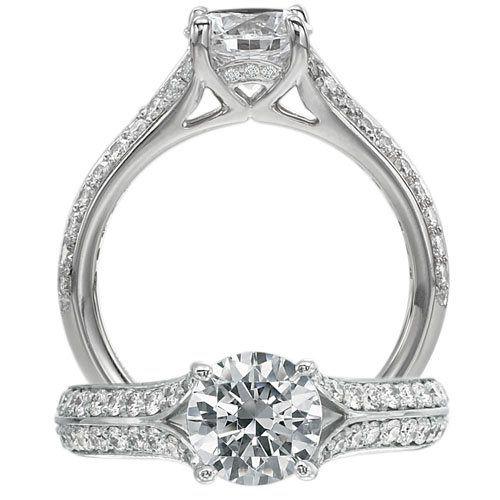 Tmx 1343417401484 ClassicEngagementRing2 Staten Island wedding jewelry