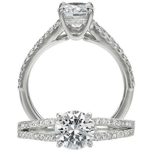 Tmx 1343417402345 ClassicEngagementRing3 Staten Island wedding jewelry
