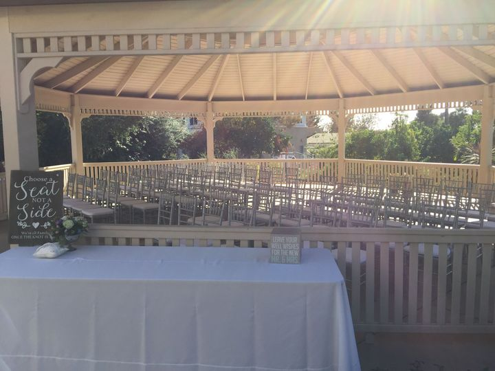 Large wedding gazebo