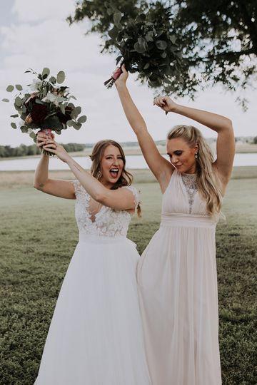 EBC Bride and Bridesmaid