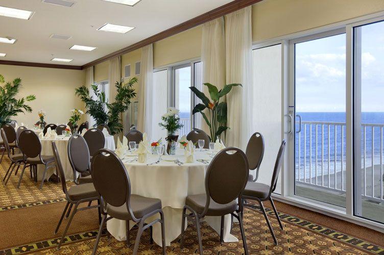 Oceanview banquet room