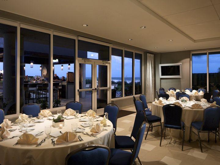 Tmx 1483557914293 1. Hilton Melbourne Ballroom Exterior Night Indialantic, FL wedding venue