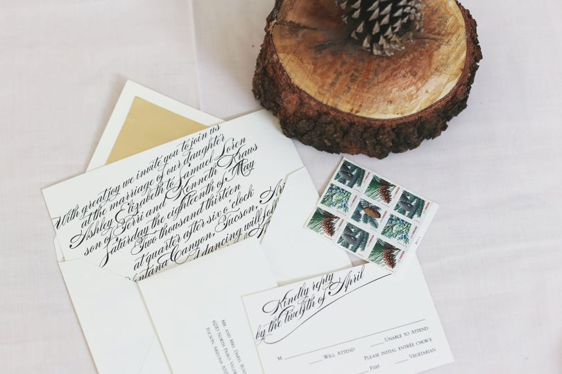 A Fine Line Invitation & Calligraphy Studio