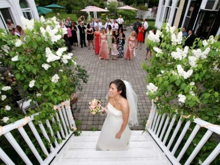 Tmx 1415836509527 Lilac Inn Courtyard Brandon, Vermont wedding venue