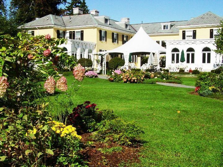 Tmx 1415836528046 Lilac Inn Garden 2 Brandon, Vermont wedding venue