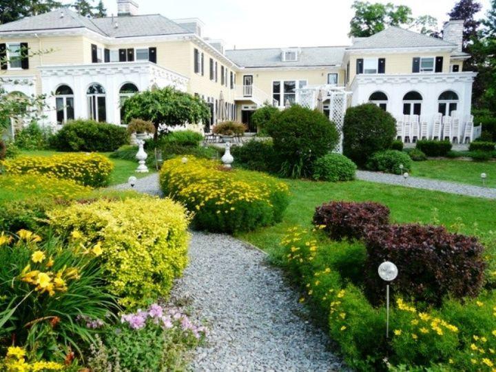 Tmx 1415836558812 Lilac Inn Summer Garden 1 Brandon, Vermont wedding venue