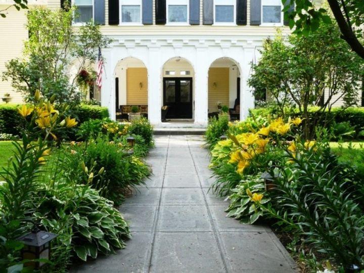 Tmx 1415836561813 Lilac Inn Summer Garden 2 Brandon, Vermont wedding venue