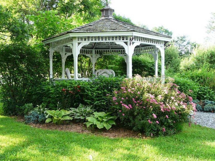 Tmx 1415836564870 Lilac Inn Summer Garden 5 Brandon, Vermont wedding venue
