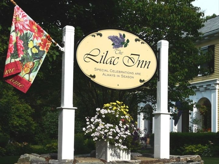 Tmx 1415836619089 Lilac Inn Welcome Sign July 2012 Brandon, Vermont wedding venue