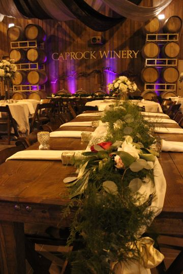 Caprock winery venue lubbock tx weddingwire for Wedding venues lubbock tx