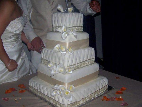 Tmx 1275874674534 Weddingcake Fontana wedding cake