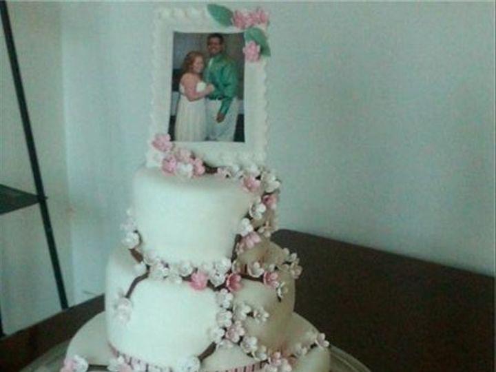 Tmx 1278903074824 Cherryblossomcake Fontana wedding cake