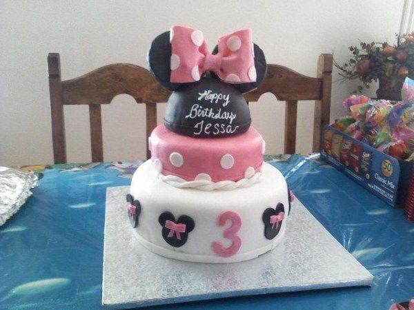 Tmx 1280712497663 Minniemousecake Fontana wedding cake