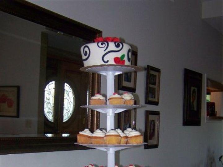 Tmx 1295337225078 1003232 Fontana wedding cake