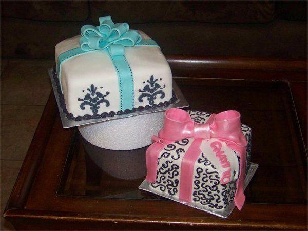Tmx 1316064848323 Twogiftcakes Fontana wedding cake