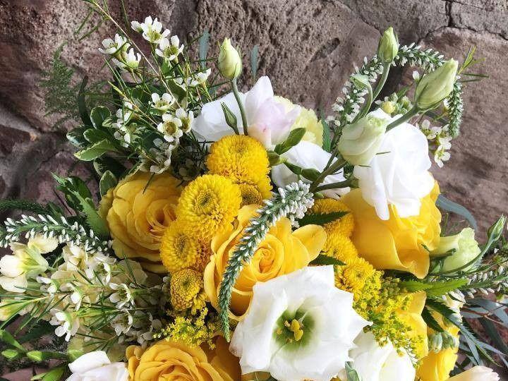 Tmx 1484700571410 Burst Of Yellow Bridal Bouquet Knoxville, TN wedding florist