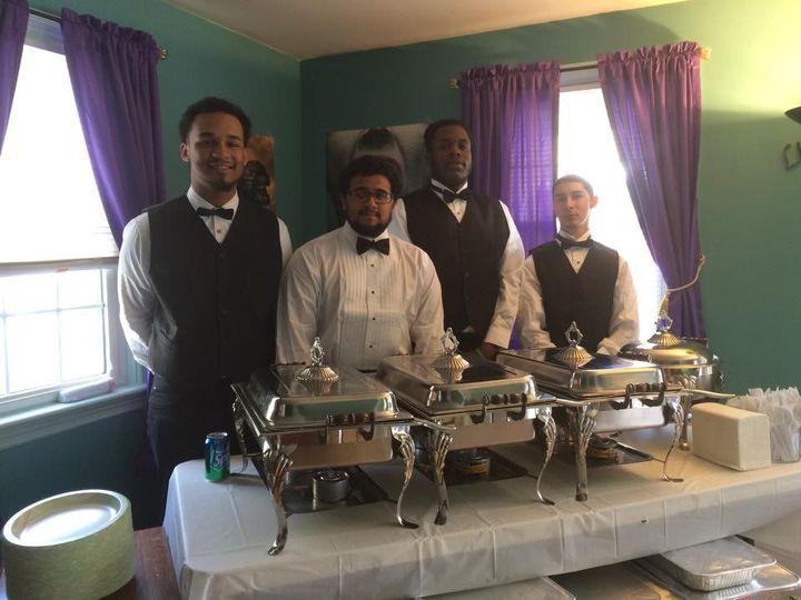 wedding reception uniform