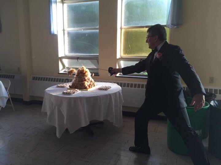 Tmx 1432502183183 Sword Croquembouche York wedding catering