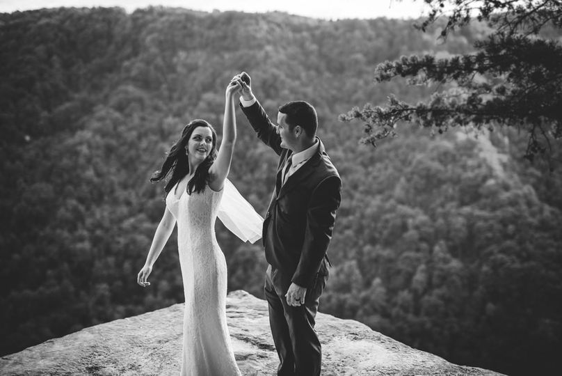 new river gorge wedding 7