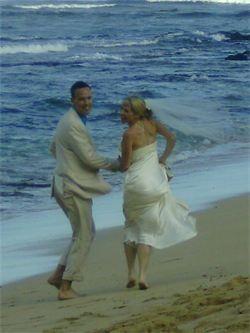 wedding photo i took in hawaii