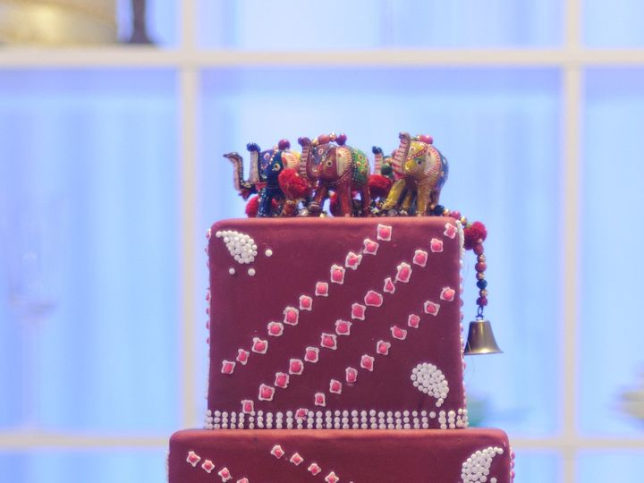 Tmx 1367941711709 Bandini Print Jackson Heights wedding cake