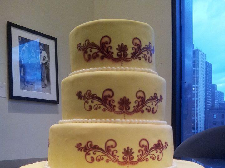 Tmx 1399400296075 2012122216372 Jackson Heights wedding cake