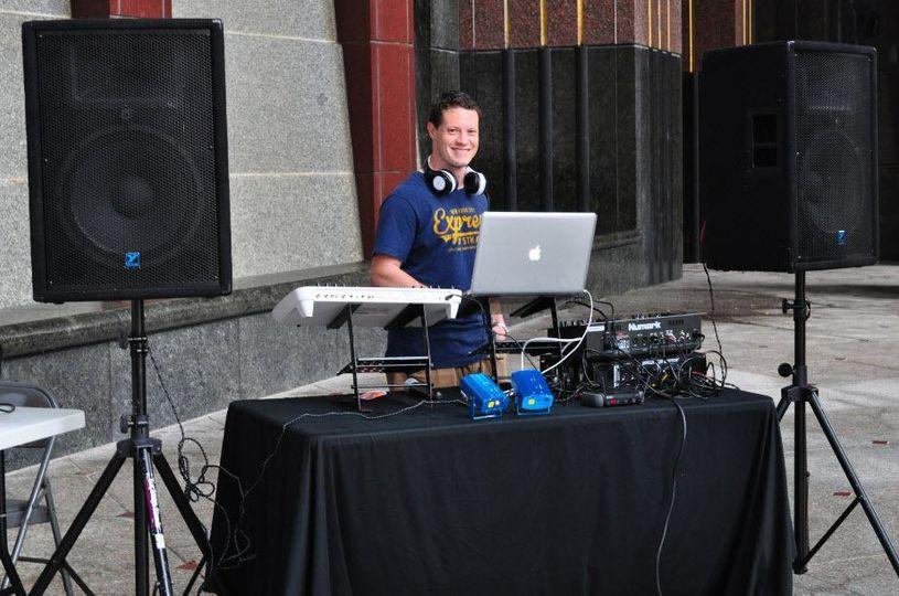 DJ steup