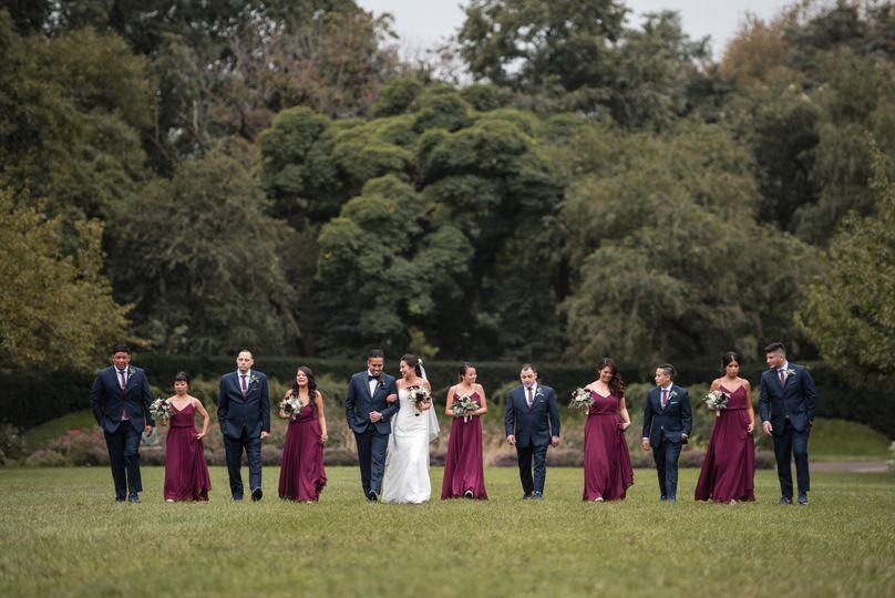 Brooklyn Botanical Wedding