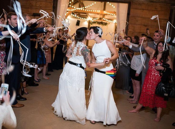 LGBT wedding #loveislove
