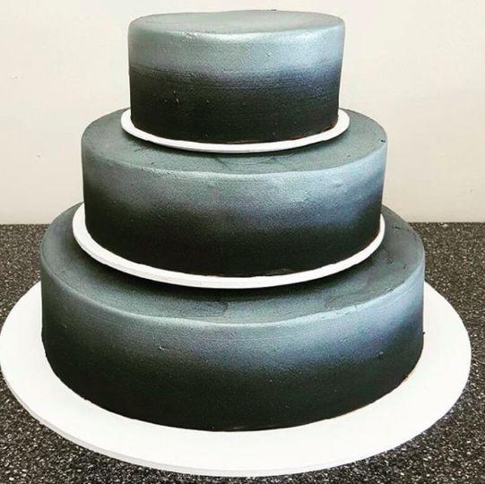 Simple designed cake