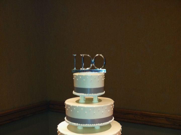 Tmx 1375302226533 Beaverton Bakery Modified Swiss Dot Cake Beaverton, OR wedding cake