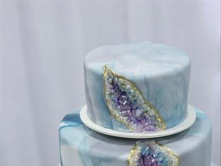 Tmx 1488402067779 Marry Me Geode Cake Beaverton, OR wedding cake