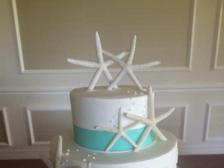 Tmx 1488403126487 Starfish Wedding Cake Pdx Golf Club Beaverton, OR wedding cake
