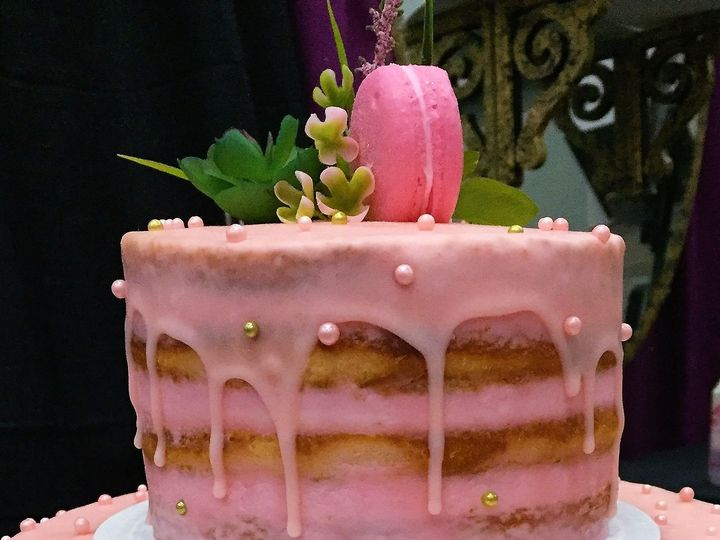 Tmx 1516835798 4e6d765bbd08f10b 1516835795 7027b53ebf1c3e58 1516835793785 1 Pink Macaron Naked Beaverton, OR wedding cake