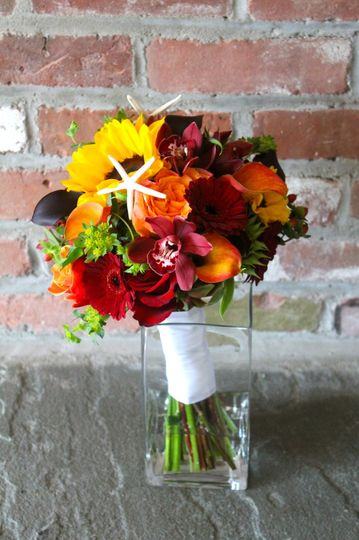 Fall beachy bouquet
