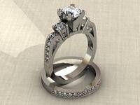 Tmx 1240431645000 EngagementRingChannelsetbandwithMilgrain Lutherville Timonium wedding jewelry