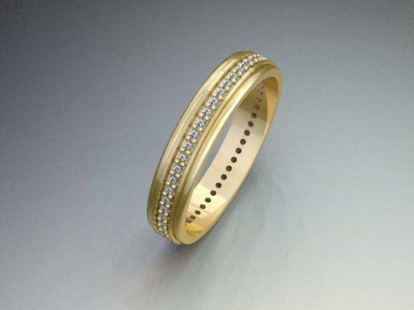 Tmx 1240431651546 14kYGDiamondBand Lutherville Timonium wedding jewelry