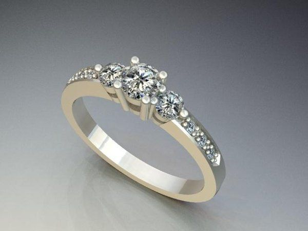 Tmx 1240431657609 DiamondEngagementRing2 Lutherville Timonium wedding jewelry