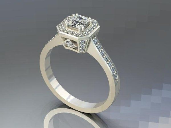 Tmx 1240431658859 DiamondRing1 Lutherville Timonium wedding jewelry