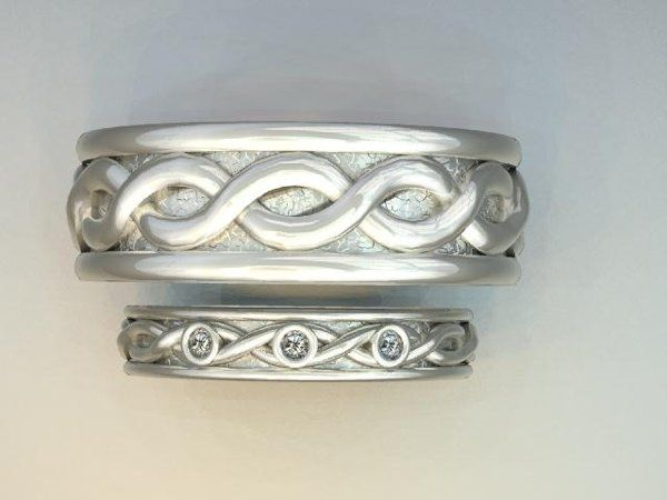 Tmx 1240431667156 HisHersMatchingWeddingBands Lutherville Timonium wedding jewelry