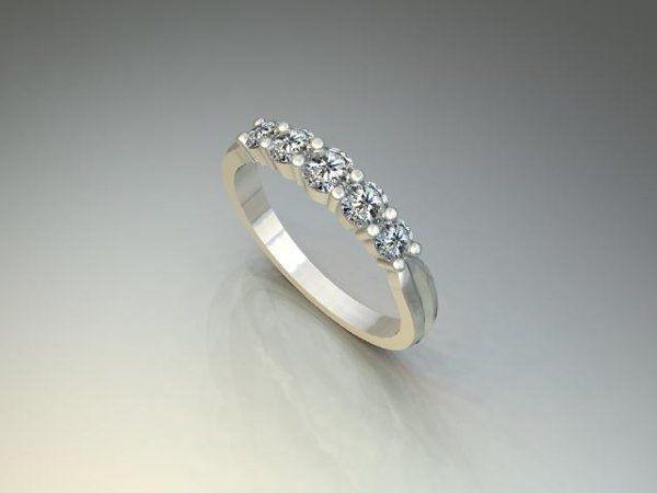 Tmx 1240431668734 FiveStoneBand Lutherville Timonium wedding jewelry