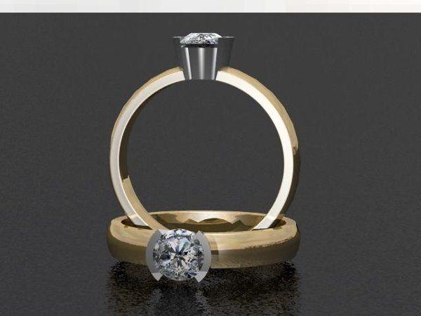 Tmx 1240431677625 SolitaireDiamondRing Lutherville Timonium wedding jewelry