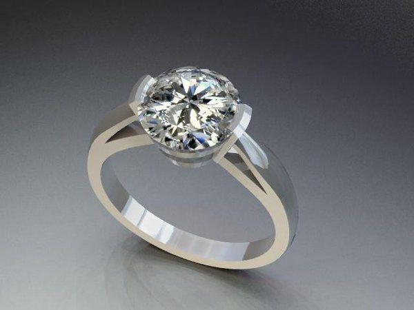Tmx 1240431680890 SolitaireDiamondRing1 Lutherville Timonium wedding jewelry